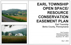 Earl Township Open Space/Resource Conservation Easement Plan
