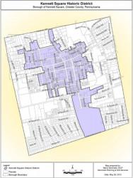 Borough of Kennett Square Historic District Ordinance (2013)