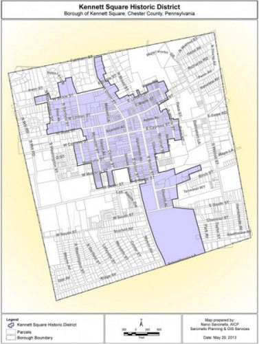 Borough of Kennett Square Historic District Ordinance (2013)