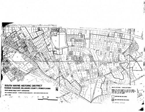 South Wayne Historic District, National Register (1991)